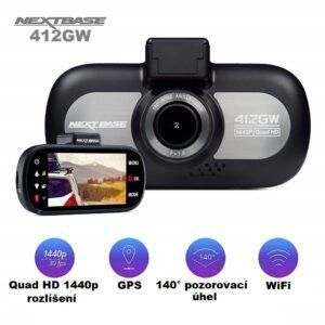 autokamera s GPS, WiFi a Q HD rozlíšením