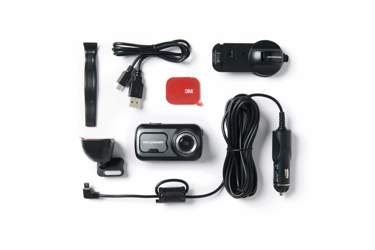 obsah balenia kamery do auta