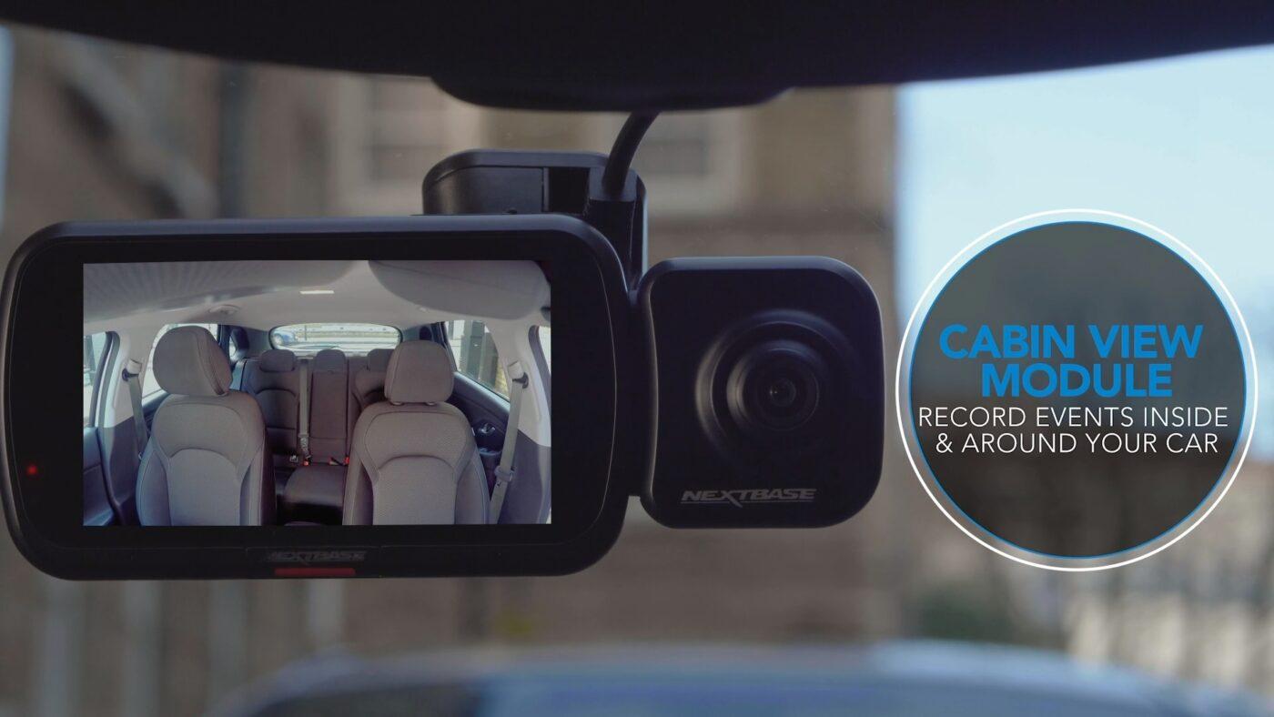 Interiérová kamera do auta
